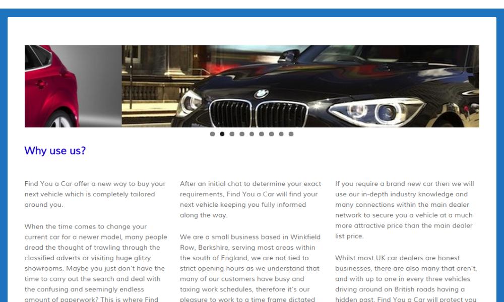 Find You a Car Ltd